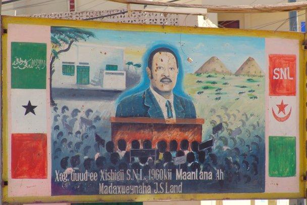 Mohammed Ibrahim Egal, former President of Somaliland. Creative Commons