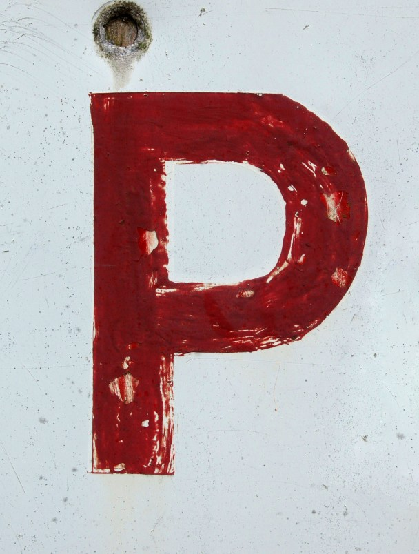 'P', by Chris. Creative Commons